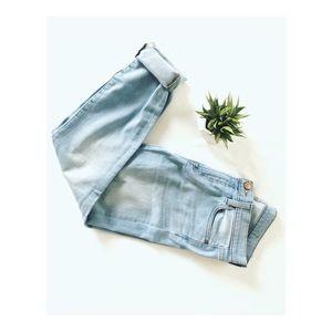• J. Crew Toothpick Light-Wash Jeans •